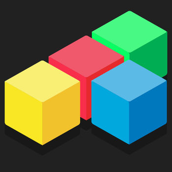 Free to Fit: 10/10 color block puzzle logic stack dots (Perfect two cube version) - Free to Fit! is an amazing block puzzle game with a simple rule. But it\'s really a distinctive block puzzle game.Just drop blocks to create and destroy full lines on the screen both vertically and horizontally and keep the blocks from filling the screen in this addictive puzzle game.We also provide you two special modes for your challenge:- Classic Mode.- Bomb Mode.- Hard Mode