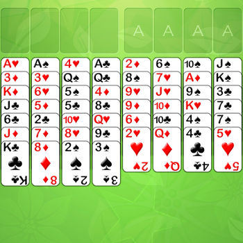 FreeCell FULL GAME - Features:• Full game (not a demo/lite version).• 4 difficulty modes - easy, normal, hard & auto.• 18 backgrounds to unlock.• Retina graphics.• Universal app - download to all your devices!• Statistics page.• Rules page.• Undo button.• Game numbers are the same as on Windows.• Play games in numerical order.• Double tap to move a card to a free cell.• Reset statistics button.