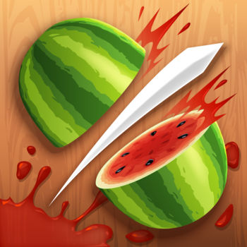 Fruit Ninja Free - Cut fruit, dodge bombs – that's all you need to know to play Fruit Ninja, the hit mobile game enjoyed by billions of players around the world!Get into the juicy carnage with the three original modes and a wide range of blades and dojos to choose from. Slice as many fruit as you can in Classic mode – just don't hit the bombs! Aim for a new high score in the fan-favourite Arcade mode by using the special Double Score, Freeze or Frenzy bananas. Or if you need some stress relief, simply slash and relax in the tranquil Zen mode. Need an extra edge? Equip the special power-ups: Peachy Time, which gives extra time; Berry Blast, which destroys surrounding fruit when sliced; and Bomb Deflect.Once you've sharpened your skills and reflexes, put them to the test in Event mode, where you'll clash with characters like Truffles, Mari and Rinjin for the chance to win special swords and dojos that can be used in Classic, Zen and Arcade mode. The competition continues in the daily Challenge mode – can you out-slice the other ninjas for prizes and glory? Want to show your family and friends that you're the top ninja around? Grab your brother, sister, or anyone else to duel against you in a shared-screen local multiplayer match, or compare your score with your friends to rise through the ranks and become the king or queen of the leaderboard! If you need a break from challenging others, try out the exciting and addictive minigames and find your favourite!What are you waiting for? Whether you\'re playing for some mindless fun and trying to pass the time, or trying to improve your skills as the ultimate ninja, this is the game for you. Experience and enjoy the awesomeness that is Fruit Ninja – chop chop!View our privacy policy at http://halfbrick.com/ppView our terms of service at http://halfbrick.com/tosNeed help with the game? Email us at fruitninja@halfbrick.com