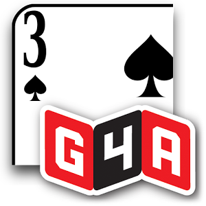 G4A: Gin Rummy - If you like Rummy games like Rummikub or Indian Rummy, this might be the game for you!You can try the Oklahoma variant for an extra challenge and more diverse game play.The winner is the player to put all his cards in runs or sets before the other player. This is called \