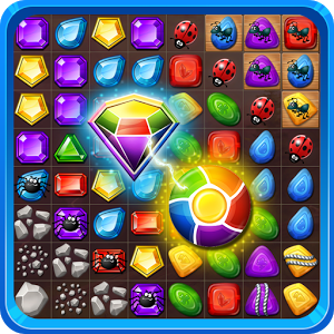 Gems or jewels ? - Puzzle game with tricky levels will steal your free time. Use your skills, logic and imagination to become a match-3 master.- Jewel and gem style of elements    - Big items make your game comfortable- Gifts and rewards along your journey- Beautiful painted backgrounds- Non-stop play with level skip and unlimited livesDownload now!