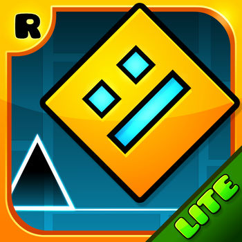 Geometry Dash Lite - Jump and fly your way through danger in this rhythm-based action platformer!Prepare for a near impossible challenge in the world of Geometry Dash. Push your skills to the limit as you jump, fly and flip your way through dangerous passages and spiky obstacles.Simple one touch game play that will keep you entertained for hours!Check out the full version for new levels, soundtracks, achievements, online level editor and much much more!Game Features• Rhythm-based Action Platforming!• Unlock new icons and colors to customize your character!• Fly rockets, flip gravity and much more!• Use practice mode to sharpen your skills!• Challenge yourself with the near impossible!Contact: support@robtopgames.com
