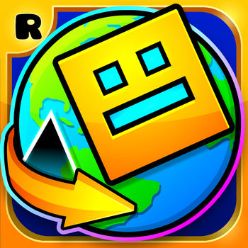Geometry Dash World - Geometry Dash is back with a brand new adventure! New levels, new music, new monsters, new everything! Flex your clicky finger as you jump, fly and flip your way through dark caves and spiky obstacles. Discover the lands, play online levels and find the secrets hidden within the World of Geometry Dash!• Rhythm-based Action Platforming!• Ten unique levels with music from Dex Arson, Waterflame and F-777!• Play daily quests and earn rewards!• Play online levels created by the Geometry Dash community!• Unlock unique icons and colors to customize your character!• Fly rockets, flip gravity and much more!• Use practice mode to sharpen your skills!• Challenge yourself with the near impossible!Approved by RubRub \\ (•?•) /