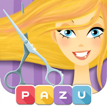 Girls Hair Salon - Hair Style & Makeover Games for Kids, by Pazu - SAFE FOR KIDS• No Ads• Parental ControlsABOUT PAZUPazu is a mobile games company that creates and publish beautiful digital games especially designed for kids.GIRLS HAIR SALONGirls Hair Salon is a fun and interactive game from developers PAZU Games. Now you can own your own hair salon where you can color, cut, and dress your very own animated models! Become the fashion stylist you've always wanted to be and redesign your model exactly how you wish. Girls Hair Salon is full of interactive features and innovative tools to help you become the hairstylist you've always dreamed of. Here's how!Choose your own model! Girls Hair Salon lets you choose 1 girl from a selection of 6 (2 of them are free with the app and 4 others are available with in app purchase). Once you've chosen the perfect model for your salon, you can then go and choose from a virtually endless amount of style making tools. From blow dryers, curling irons, to accessories, this game lets you do everything you've ever wanted with just a click of a button. Cut, Style, and Dress!Each model in the selection is in desperate need of your help! Help them out by dressing them, adjusting their hair color, adding style to their look, and by giving them a complete makeover. Girls Hair Salon gives you an endless assortment of tools to choose from without any need to slow down! You can take models from boring to amazing in just a few short steps. Not to mention the fact that the app supplies you with hours upon hours of fun. You can make your model turn into a work of art with this incredibly fun app!You will be amazed at the selection of tools available to redesign and cut your model's hair the way you like. Girls will absolutely love this game! Start playing this entertaining, exciting, and addicting game today and become a hairstylist! Features :* 6 different unique characters* Dozens of different appliances make for countless hairstyles!* Colorful and unique artwork* Easy and fluid interface that is designed especially for kids
