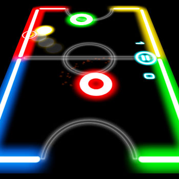 Glow Hockey - Happy New Year with the New \