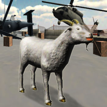 Goat Frenzy 3D Simulator - aN aNGry GoAt RuNNinG aRoUNd. gOaT sMash CaR. GOaT smAsH HeLiCoPTer. GoAt wIn.  GOaT AlwAYS Win.An angry goat has gone loose on the city streets.  You are in control of this super powerful goat.  Use his super strength to throw cars, helicopters, tanks, and other large objects.  Hours of fun to be had searching around for fun objects to toss around.  The object of the game is to score as many points as possible before the time runs out.  Keep searching, you never know what you may find.