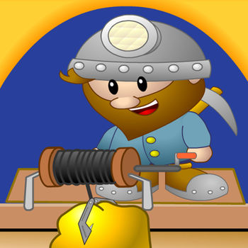 Gold Digger HD - This is one of the most classic games, currently in time-limited freeing.Features:1, stunning cartoon pictures, best iPhone\'s game quality experience!2, simple clicking control, designed specifically for touch screen!3, excellent level designs, contains thousands of levels!4, powerful props: contains the bomb, clover, Hercules water, diamond water, stone book collections and more props coming soon!5, Game Center ranking, to tell to the world that you are the best one!So wonderful, don\'t miss it!