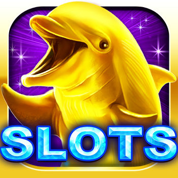 Gold Dolphin Casino Slots - Real Rewards - ***Now the #1 Free Real Rewards Casino Game in the App Store***Fun, excitement and real money rewards! Welcome to Gold Dolphin Casino Slots!With over 2,000 five-star ratings, Gold Dolphin Casino Slots is the only free casino app that offers players a chance to win amazon gift cards which can be used to buy anything you want from Amazon.com!Gorgeous graphics, smooth animations, fantastic bonuses and atmospherical sounds guarantee a premium slot experience. With extremely big payouts and real money rewards, you\'ll never want to go Las Vegas again!Gold Dolphin Casino Slots is especially designed to give you the experience of Vegas slots on your iPhone/iPad. If you LOVE slots, there\'s no doubt you\'ll be downloading Gold Dolphin Casino Slots. You can get credits by playing the Golden Dolphin machine, which can then be used to play the wheel.The game is intended for an adult audience. The game does not offer \