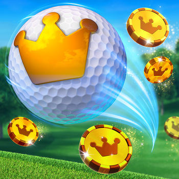 "Golf Clash - The sun is shining, it's time to play the real-time multiplayer game everybody's talking about!Play on beautiful courses against players around the world in real-time as you compete in tournaments, 1v1 games and challenge your Facebook friends!Upgrade your clubs and unlock tours as you master your golf skills in the quest to be the Golf Clash king!  - Quick-fire 1v1 real-time gameplay.  - Revolutionary shot system that's easy to learn but difficult to master.  - Thousands of live players online waiting to be challenged.  - Progress through more advanced tours as you ""raise the stakes"".  - Earn promotion in weekly leagues to win club card bonuses.  - Compete against your friends via Facebook to earn the bragging rights.  - Unlock chests as you discover and upgrade to premium clubs and balls.  - Save and share replays of your jaw-dropping shots.  - Chat with opponents and send emojis mid-game and even mid-swing!  - Advance through challenging courses and weather conditions."