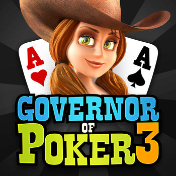 "Governor of Poker 3 - Free Texas Holdem Poker Live - Free Multiplayer Texas Hold'em PokerDo you want more than just poker? Do you want to join the greatest free multiplayer poker experience in the world? The only thing you need to do is to download this excitingTexas Holdem poker game.Governor of Poker 3 offers six different Texas Hold'em Poker formats giving every type of poker player the kind of poker game they like.  In this multiplayer version of Governor of Poker you compete live with thousands of real poker players to proof you are the best and number 1 Texas Holdem poker star! Becoming a poker pro is a long journey through the Wild West in Texas. You will start as a poker rookie and work yourself all the way up to become a VIP poker player, a high roller to end up winning high stake poker games  in the Gold area.Download the game now, get your free chips, invite your friends and make it a great poker night. Still not sure this is the best poker game? Read all Governor of Poker game features.The main game features : -  BIG FREE WELCOME PACKAGE: 30,000 free poker chips, gold and hat.-  6 DIFFERENT POKER Formats:  Cash games, Sit & Go tournament, Spin & Go, Push or Fold, Big Win, Jackpot poker and Royal poker.-  ENJOY TEXAS: Travel through Texas by winning poker tournaments, beat friends at Texas Hold'em cash games and Big Win Poker tournaments. The further you travel the higher the stakes-  BLACKJACK 21: Play Blackjack for many different betting amounts-  FREE CHIPS: get your free chips stack bonus every 4 hours-  PLAY WITH FRIENDS: host your own room and invite poker friends or poker buddies. You can also give your poker friends a poker gift-  GUEST MODE: play poker anonymously on your mobile-  WIN BADGES & ACHIEVEMENTS: Distinguish yourself by winning badges and trophies with your poker skills-  PLAY EVERYWHERE: play poker on your mobile device and continue to play on your laptop-  EARN CHIPS: Watch videos and earn free poker chips every day-  BONUS FOR CONNECTING via Facebook: earn extra chips and play poker with friends!-  CHAT with other hold'em players through chat and animating emoticons. Use them to bluff or taunt players so you win the poker hand !Play this great Texas Hold'em Poker game for FREE today.Note: The games are intended for an adult audience. (e.g Intended for use by those 21 or older)The games do not offer ""real money gambling"" or an opportunity to win real money or prizes. (e.g the game is for amusement purposes only)Practice or success at social casino gaming does not imply future success at ""real money gambling"""