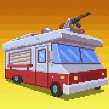 Gunman Taco Truck - • 2017 Featured on App Store in New games we love in USA, UK, Finland, Canada and others• 9/10 Rating on All Age Gaming• MacWorld named as one of The 10 Mac Games You Need to Play in January 2017Gunman Taco Truck is an action-packed drive across the post-apocalypse United States to reach the safe haven of Winnipeg, Canada, where there are no taco trucks and your family's taco business can thrive. Getting to the safe towns is hectic but your truck is armed with weapons that blast mutants into taco fillings. In the towns you serve up the mutant scraps to struggling survivors who are more picky than they should be. Use money earned and scrap metal found to upgrade your truck and buy gas and supplies for the trip to the next town. You simply MUST see this game to believe it. Download now!Rave Reviews:\