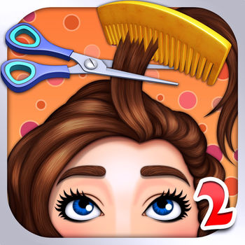 Hair Salon - Fun Kids games - Do you want to be a barber?Let\'s play the Hair Salon . To be a barber and design various hairstyles for your customer.It\'s a fun game for kids.