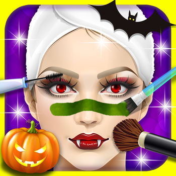 Halloween SPA, dress design - kids games - Halloween is coming.Every girl loves to go to SPA. Come to makeover and dress up , and let her become the most beautiful one?It\'s a kids games for girls!