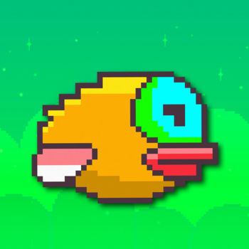 Happy Bird : Original Game Returns - The Happy Bird is the hardest Flappy game ever! Do you think all the other flying games are hard? You haven\'t tried this game! How to play?- Tap to fly - Avoid obstacles - Try to reach as good as you can get record.