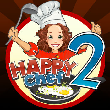 Happy Chef 2 - Cook a variety of dishes from all parts of the world and become an expert chef in this Time Management game. You start from the humble beginnings in an authentic pizza and pasta place in Italy, and as you become a more advanced cook, you go to Hawaii, America, China and France, and become a world famous star chef. Cook pizzas and pastas, ice creams and brownies, pancakes and potato chips, oriental dishes, exquisite French plates and many more. Upgrade your kitchen with fantastic new equipment that you've always dreamed of, decorate your restaurant and serve a huge variety of customers with unique tastes and preferences. And have a lot of fun, while doing it, be a Happy Chef! * More than a 100 dishes to cook from all over the globe – from pizzas and pastas to sophisticated oriental plates and French exquisite dishes * 5 locations to master in different parts of the world * More than 70 levels to complete * 5 mini-games with unique visuals * Hundreds of upgrades to decorate and improve your restaurants * 25+ hours to complete the game