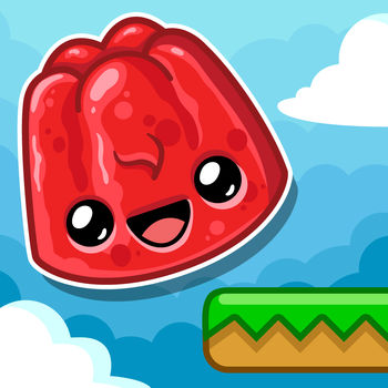 Happy Jump - Meet a happy Jelly who dreams of soaring through the skies.Help our friendly dessert reach new heights in this action packed game!Bounce from platform to platform, dodge the mean flies, and grab everything you can to get the highest score.Great fun to play with friends, who can go the highest in Happy Jump?