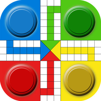 Happy Ludo - Ludo is a board game for up to four players, in which the players race their four tokens from start to finish according to dice rolls.