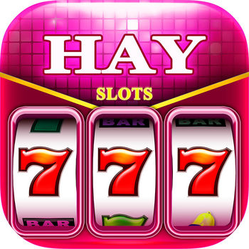 Hay Slots - Free Casino slot machines - Play Hay slots - slots lovers\' favorite free slots casino. Join the most popular FREE casino on App store. Play here with millions of casino slots fans all around world! Hay slots have the most thrilling and exciting slots themes featured with BIG WINS, FREE SPIN & HUGE JACKPOT- All the Vegas style gameplay experience that you always wanted.Hay Slots Features:* Tons of slot machines designed by the REAL Casino experts!* Experiencing realistic Vegas Casino just in the palm of your hands!* FREE COINS bonus every 2 Hours!* Thrilling casino slot machine features- Lucky Free Spin Jackpot, Jackpot OZ, Kitty Gems, Greece Gods. * Gorgeous, captivating graphics and game effects!* Fun and exciting Bonus inside every single slot machine! Bring you the same thrill as of Vegas Casino Slots, for FREE!* Best slots with stack and expanding wilds!* Conquer the tournaments to win big in the prize pool with your friends !* Make you own trophy collection from every slot game and lead the way in the leader board!* Exclusive offer and promotion sales support you to go further on the winning road!* Enjoy our exclusive mini fun games in our new slot machines!* New slotsfree with bonus added every week with wild stack, free games, super re-spin, huge jackpot and other amazing slots features!Do you want to have some really exciting and fun game experience while your leisure time? Is it bothered you so much when you have some thought of playing free slots machine free, with thrilling gameplay experience? Then Hay Slots is the perfect answer for you that offer all the brilliant things in one time! Download Hay slots and enjoy the houseparty right now Various free games in Hay slots will give you the REAL and veritable Las Vegas Casino game experience without risk of real betting, unlike casino gambling or lottery playing for money, here in Hay slots you play casino slots game just for fun!