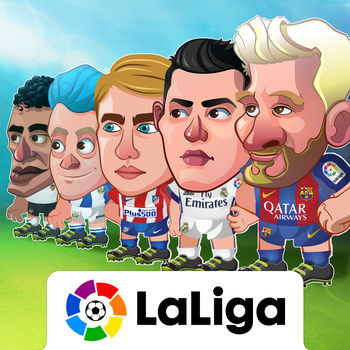 Head Soccer La Liga 2017 - Head Soccer - LaLiga is the official app for Spanish league football for the 2016-2017 season.Enjoy the latest football with all of the players and superstars of LaLiga.Now you just need to choose your favourite team, get out on the field, show off your skills, and win  tournaments!And with the new editor, you can now choose and customize the perfect players that will fight for your victory.ABILITIES:SPEED: Move more quickly down the fieldSHOT: Improve your kicks and shots on goalJUMP: Leap higher to help you attack and defendSPRINT: Improve your sprint to overtake your opponentPOWER UP: Reduce the time you have to wait for special shotsFRIENDLIESStart a friendly match! Just choose a team of your favourite player and then select any team as your opponent. Complete all of the challenges to become the best!CUPOnly champions are remembered! If you want to go down in history you must take on your rivals in elimination finals. Make it through all of the rounds and enjoy unforgettable moments that only a few get to experience, playing in a Cup Final!LEAGUEConsistency is key to success in the Leage! You must face all of the teams and gain points match by match to reach the ultimate objective… to be ranked at the top by the end of the seaon.DIVISIONSCreate your player and compete at the highest level. Choose from three categories: bronze, silver, and gold. Each category is made up of various divisions. Win matches to ascend in the divisions and reach the Gold category!Win bonuses as you defeat opponents and beat your friends in the Ranking. Victories will earn you rewards that you can use to level up your player.CHALLENGEOnly the best players are able to take on this challenge! Show off your ball skills and beat each round as though it were a final!EDITORSelect and customize players that will lead you to victory on the pitch.Do you think you\'ve got what it takes to be a CHAMPION?Download Head Soccer La Liga now!More information at:www.lfp.es www.facebook.com/LaLiga www.twitter.com/laligawww.instagram.com/laliga
