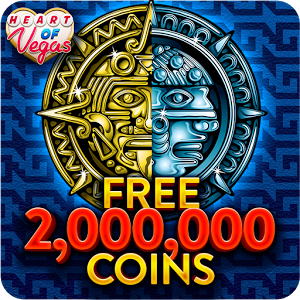 "Heart of Vegas™ Slots Casino - Welcome to the BEST free slots casino app for Vegas slots by Aristocrat Gaming - now with the BIGGEST casino bonus of 2,000,000 FREE slots coins! Come and play free slot games with heart! Go for the Jackpot!Free Slots for FUN! Online slot machine games from the Casino Floors - Get the REAL Las Vegas casino feeling Get spinning with our casino slot machines and win BIG!Install Heart of Vegas Slots now and enjoy all the fun of a free casino! Play some of the best Las Vegas games from Aristocrat gaming. Spin authentic free slots games in the greatest app for free casino games – Aristocrat is the expert in Las Vegas slots!Experience the thrill of REAL Vegas casino slot machines – online! Heart of Vegas Casino Slots invites you to play the world's favorite Aristocrat slots games from the best casinos. Play the authentic Aristocrat slot machines, ranked among the most-popular land-based free casino games worldwide…♥️ Come alive with AMC's THE WALKING DEAD slot machine♥️ Play free BUFFALO SLOTS – one of the most-played free slot games of all time♥️ Win at Mayan slots with SUN & MOON slot machine games from the casino floors!♥️ Play MISS KITTY slots games – the free slot game that's the cat's meow!♥️ Spice things up with MORE CHILLI slots♥️ Unearth Cleopatra's slots fortunes in Ancient Egypt with the QUEEN OF THE NILE slot machine …Plus - 50 LIONS, LUCKY 88, 50 DRAGONS, BIG RED SLOT MACHINE, MORE HEARTS, DOLPHIN TREASURE and so many more free slots of Vegas by Aristocrat Gaming!Heart of Vegas Slots brings you:•  Free slots bonus coins EVERY day in our online casino!•  New free Vegas slots games always added!			•  Play slots games with huge Jackpots and exciting Wins! Play to win!•  Win thousands of FREE casino bonus coins with the Daily Wheel and Hourly Slots Bonuses!	Do you ""heart"" Vegas Slots? Join the BEST casino online now!Install Heart of Vegas Casino Slots and find out why everyone LOVES Aristocrat slots games! Heart of Vegas Slots – the BEST slots app for free slots of Vegas!Like Us on Facebook! https://www.facebook.com/HeartofVegasThis game is intended for an adult audience (21+) and does not offer 'real money' gambling' or an opportunity to win real money or prizes. Practice at this game does not imply future success at 'real money' gambling."