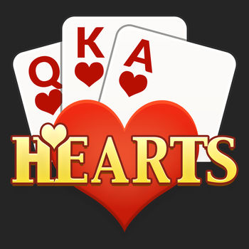 Hearts Free - The classic card game Hearts is now available on your iPhone or iPod Touch.  With rich graphics and smooth animations, Hearts Free is the premier Hearts app on the app store - and best of all, it\'s free.  Try to stick your opponents with as many hearts as possible, while simultaneously avoiding hearts yourself.  Watch out for the Queen of Spades, she\'ll ruin your day.  Hearts Free features an outstanding artificial intelligence engine.  Three different difficulty levels ensure that you can play against a computer opponent that matches your skill level.  Hearts Free offers many exciting features, including:* Great graphics and awesome sound effects* Play to 50, 100, or 150 points * Option to count Jack of Diamonds as -10 points * Configurable game speed (slow, medium, or fast)* Automatic save when you get a phone call or exit the appIf you\'ve been waiting for a killer Hearts game for your iPhone or iPod Touch, this is it.  Download Hearts Free today!