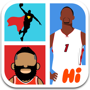 Hi Guess the Basketball Star - Are you a basketball maniac who checks out the latest NBA game schedules, read basketball game reviews and could not miss one basketball game? If the answer is YES, then don't hesitate and get this app NOW! Guess from groups of top basketball stars sketches and find out how many basketball stars you can recognize.