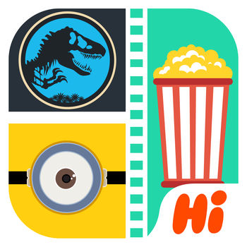 Hi Guess the Movie 2016 - Watch the pic and guess the movie out!Thousands of movie puzzles available. The hottest 2016 charts added.More puzzles, more fun!From the creators of the #1 apps \