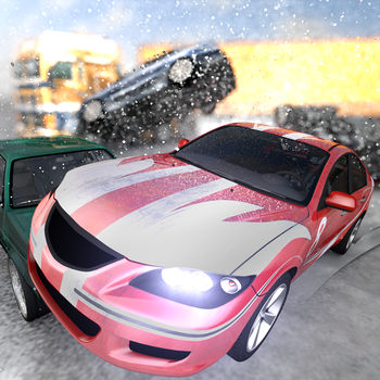 Highway Crash Derby - Take your race car out on the highway and try to cause as much damage as you can!Swipe your way through the traffic and wait for the right moment to cause a massive highway crash.The further you drive without crashing, the higher you can score!Featuring 8 different kind of vehicles including* a sports car with rocket boost* a police car* a pickup truck with an explosive load* an ice cream truck with working music player and a special ability* a hovercraft* a hacker van, which can take control of any other car on the road* a TOP SECRET vehicle, hidden inside a big crate.
