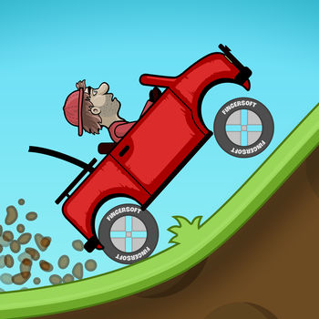 Hill Climb Racing - One of the most addictive and entertaining physics based driving game ever made! And it\'s free!Meet Newton Bill, the young aspiring uphill racer. He is about to embark on a journey that takes him to where no ride has ever been before. With little respect to the laws of physics, Newton Bill will not rest until he has conquered the highest hills up on the moon!Face the challenges of many unique hill climbing environments. Gain bonuses from daring tricks and collect coins to upgrade your car and reach even higher distances. Watch out though - Bill\'s stout neck is not what it used to be when he was a kid! And his good ol\' gasoline crematorium will easily run out of fuel.Features:- Upgradeable vehicles- Lots of stages with levels to reach in each- Cool graphics and smooth physics simulation- Designed to look good on low resolution and high resolution devices (incl. tablets)- Real turbo sound when you upgrade your engine!