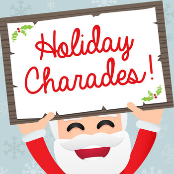 Holiday Charades! - Holiday Charades! is the outrageously fun and exciting multi-activity game for you and your friends! With different challenges from dancing, singing or acting -- guess the word on the card that's on your head from your friends' clues before the timer runs out! Features: - Play with one friend, or one hundred at the same time. - Draw a new card by tilting your phone up or down With holiday themed decks to choose from, packed with exciting game play cards, the fun will never stop! Decks include: - Holiday Movies- Christmas Music- All I Want for Christmas- Things Related to the Holidays- Act It Out: Holiday Edition- Holiday FoodsChallenging players in trivia and creativity, your next party, reunion or family game night will never be the same.