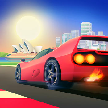 Horizon Chase - World Tour - HORIZON CHASE CELEBRATES ITS 1st ANNIVERSARY WITH HOT NEWS:- Australia Cup with 9 New Tracks! Featuring: Brighton Beach, Uluru, Sidney + Bônus Track- 2 brand new cars! Beat your friends\' records.Horizon Chase is a PAID game, but you have the opportunity to try it before you buy. Enjoy 5 tracks and 2 cars for free to experience one of the \