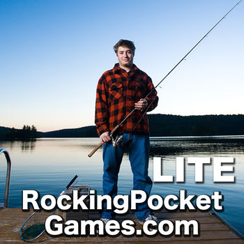 i Fishing Lite - The mobile fishing simulator - The #1 Fishing game on the App Store Welcome to iFishing Lite, the mobile fishing simulator by Rocking Pocket Games.  This is THE MOST REALISTIC AND IN-DEPTH fishing game for the iPhone.  This is not an arcade game like the other fishing games... it\'s a fishing simulator written by an avid fisherman.This blows the other fishing games away in terms of realism and gameplay depth!  In iFishing, location, lure, lure depth,  jigging and your reeling speed makes a difference about what fish you catch.  It is the only fishing game that lets you drive a boat around a lake and fish structures.NEWS: iFishing 4 is now available for free which is an improved version of this game.  Search for \
