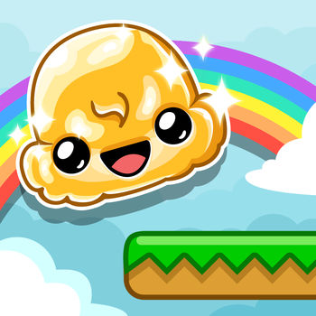 Ice Cream Jump - Meet a happy Ice Cream Scoop who dreams of soaring through the skies.Help our friendly dessert reach new heights in this action packed game.Bounce from platform to platform, dodge the mean flies, and grab everything you can to get the highest score.Great fun to play with friends, who can go the highest in Ice Cream Jump.