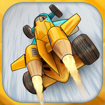 Jet Car Stunts 2 - Sequel to the award winning Jet Car Stunts.WARNING: This game will challenge you.- Crazy stunt driving on outlandish courses.- Insane jumps.- Ludicrous speeds.- Manic car handling.- Outrageous jet physics.Specs:- 120 levels, 3 difficulties each. (The First 10 are free)- 7 cars with varied handling.- 4 Game modes.- Level creation and sharing (Purchase required for saving and sharing)- Global leaderboards with replays.- Friend challenges.- Controller supportNote: Using non-app store apps with JCS2 may break JCS2, causing it to crash every time on start up.In-App Purchases: JCS2 has flexible options, either buy all in one purchase, or pay just for what you want.