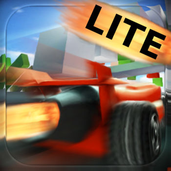 Jet Car Stunts Lite - The free version of the award winning Jet Car Stunts, with All New Tracks! ----  Apple: Best Games of 2009  ----  AppModo: \