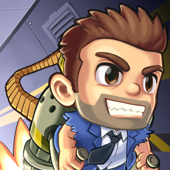 Jetpack Joyride - NEW POWER-UP: ROCKET TIME!Dodging one missile? Easy. Dodging two missiles? Piece of cake. Dodging an entire wall of missiles with little more than a jetpack? Impossible!…OR IS IT?Rocket Time is the ultimate thrill ride: ricocheting missiles, slow motion gameplay, and a bonus vehicle drop if you manage to survive long enough.Sometimes you've gotta risk it to get the biscuit… and Barry Steakfries LOVES biscuits. Have at it!*** Bullet-powered jetpacks! Giant mechanical dragons! Birds that poop money! Suit up with a selection of the coolest jetpacks ever made and test your skills as legendary action hero Barry Steakfries. Over 500 million players can't be wrong. Download FREE and start your adventure today!FEATURES:* Fly the coolest jetpacks in gaming history* Dodge lasers, zappers, and guided missiles* Storm the lab in crazy vehicles and giant mechs* Earn achievements and battle it out against friends* Customise your look with ridiculous outfits* Equip high-tech gadgets and vehicle upgrades* Complete daring missions to boost your rank* Test your reflexes with simple one-touch controls***This game contains optional in-app purchases. You can disable this feature in the settings menu of your device.View our privacy policy at http://halfbrick.com/ppView our terms of service at http://halfbrick.com/tos