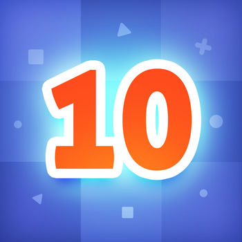 Just Get 10 - Simple fun sudoku puzzle free game - The alpha version of number puzzle game is here! It\'s easy to play for everyone, however it could also drive genius crazy.Find the same number in colourful tiles and combine them to grow up.Just enjoy this beautiful and addictive game!HOW TO PLAY :Tap the adjacent tiles with same number, and they will pop up. Tap again, they will merge in the position you tap. Try to get 10, or even higher!Features:· Endless challenge· 10 brand new secret mode· Easy to play, hard to master· Simple and creative design· Beautiful music and sounds· Get high score on Game Center· Universal App for iPhone and iPad· Share your color with friends- - - - - - - - - - - - - - - - - - - - - - - - - - - - - -If you have any idea to make this game better, please let us know :)Veewo Gamehttp://www.veewo.com