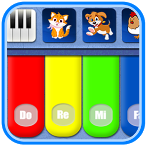 Kids Piano Free - The best kids piano application consists of 48 popular songs with animals sounds, auto play mode, and songs lyrics. There are 5 music instruments (piano, xylophone, drum, trumpet, and guitar) - all free.Features:* Touch the piano to play your music.* Hear animals piano sounds: cat, dog, chicken, duck, cow, horse, and sheep.* Consists of 48 popular songs (24 English/US and 24 Indonesian songs).* There are 5 music instruments (piano, xylophone, drum, trumpet, and guitar).* Play 48 songs with the music instruments.* Record your sound for piano tones.* Custom magical effect that you can see after playing the application.* Fantastic auto play feature to play the selected song.* Display song lyrics on the center of screen (karaoke).* Remember your default piano selection between English or Indonesian songs.* Option to use background music on the piano.PRIVACY POLICYIndocipta Studio respects your privacy and promises to safeguard your personal data. For more information: http://www.indocipta.com/p/privacy-policy.html