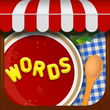 Letter Soup Cafe - Anagram Word Game - Can you find all of the delicious words in your hot bowl of letter soup? Tour the world in a scintillating soup saga through 30 culinary cuisines, all while boosting your brain power and vocab.This tasty new word puzzle will fill you up for months!