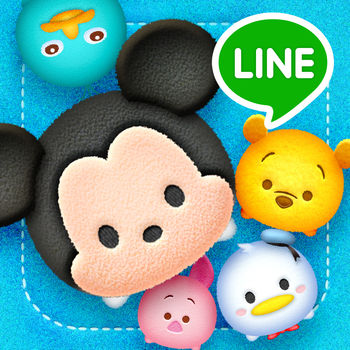 LINE: Disney Tsum Tsum - 65 million downloads world wide!!LINE: Disney Tsum Tsum is the fluffiest puzzle game ever! Collect, connect and pop Tsum Tsum based on the popular Disney Tsum Tsum plushes.Mickey Mouse, Winnie the Pooh, Frozen and more beloved Disney characters are here!Before you download this experience, please consider that this app contains social media links to connect with others and in-app purchases that cost real money.How to Play-Collect Tsum Tsum and set your favorite as your MyTsum.-Connect 3 or more of the same Tsum Tsum to pop them.-The more Tsum Tsum you connect, the more points you\'ll get!-Trigger off Fever Mode to rack up a whole bunch of extra points!-Each Tsum Tsum has a different skill. Use the one that matches your play style! Find a strategy that works for you!LINE Disney Tsum Tsum is published by LINE under license from Disney.
