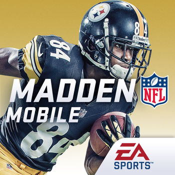 Madden NFL Mobile - THE 2016 MADDEN SEASON IS HERE! KICK OFF WITH NEW UPDATES INCLUDING QB SCRAMBLING, DEFENSIVE GAMEPLANS, AND OVER 350 NEW APP ENHANCEMENTS.