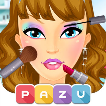 Makeup Girls - Make Up & Beauty Salon games for girls, by Pazu - • The most popular makeup game on the App Store.• Over 8 Million players worldwide.• Safe for Kids - Ad Free & Parental ControlABOUT PAZUPazu is a mobile games company that creates and publish beautiful digital games especially designed for kids.MAKEUP GIRLSAre you a huge makeup fan? Then you will love Pazu's new makeup game! More than just a makeover app, this game takes us into the world of fashion and make up in entirely new way. choose your own make up, hairstyle, and much more all with this incredibly easy to use game. The Make-up Girls is truly a fun and entertaining game! What are you waiting for? Download this free game today and become your own fashion guru!Features :* Supports all devices.* Big collection of make-up, jewelry and fun accessories.* Experiment with dozens of different lipsticks, earrings, eye-shadow, hair color and much more.