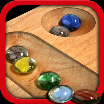 "Mancala: FS5 (FREE) - Now with 6 great new themes.  New Turn-Based mode lets you play online or against friends without interruption , never be lose a game because of  a phone call again.  Voice chat between Game Center friends!Mancala FS5 is the best-of-breed Mancala game on the iPhone with multi-player support! Play this classic game in a way designed specifically for the iPhone.Featured by Apple in Fun-Learning Games for Kids and in the best Turn Based games section.  Top 20 board game for over 3 years.The reviews are in and they are great:""Marble game gets everything right...the developers have done a fantastic job..this game has been executed to near perfection""AppCraver""Flipside 5 has an uncanny ability to take traditional games, add fantastic graphics, make excellent use of the touch screen and accelerometer, and end up with great games that are a whole lot of fun to play.""- whatsoniphone.comFEATURES:Multi-player support over the Internet and play against your Game Center Friends!Multi-player Internet works over Wi-Fi, EDGE or 3G! Invite friends to play a game with Push Notifications!- Type custom instant messages to your opponent when playing Game Center and local network games!- Play nearby games with Peer-to-Peer support over Bluetooth AND Wi-Fi.- 6 Theme packs available!- Leaderboards!    - Top 10 Highest Rated players using the same formula as World Chess Federation.    - Top 10 Most Active Players.  See how you are ranked against everyone as well.- Ratings for Nearby and Online games!- Online games now have a timer for improved forfeit detection!The PAID version does not contain advertisements and has more colorful graphics."