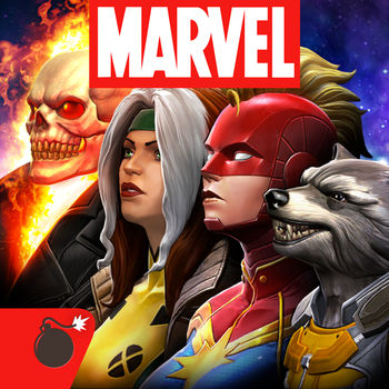 MARVEL Contest of Champions - Prepare for epic versus-fighting action with your favorite Marvel Super Heroes & Super Villains in the ultimate cosmic showdown! Spider-Man, Iron Man, Wolverine & more await your summons to battle! Assemble a team & begin your quest to become the Ultimate Marvel Champion!WELCOME TO THE CONTEST:Captain America vs. Iron Man! Hulk vs. Wolverine! Spider-Man vs. Deadpool! The greatest battles in Marvel history are in your hands! The greedy Elder of the Universe known as The Collector has summoned you to a brawl of epic proportions against a line-up of vile villains including Thanos, Kang the Conqueror, and many more! Experience the ultimate free-to-play fighting game on your mobile device…Marvel Contest of Champions!SUIT UP WITH FRIENDS:• Team up with your friends and other Summoners to build the strongest Alliance• Strategize with your alliance, help them keep their Champions in the fight• Battle to the top in Alliance Events and take on Alliance Quest Series together in specially designed quest maps to earn exclusive Alliance rewards• Test your Alliance's mettle by battling it out with Alliances from around the world in Alliance Wars!BUILD YOUR ULTIMATE TEAM OF CHAMPIONS:• Assemble a mighty team of heroes and villains (choosing Champions such as: Iron Man, Hulk, Wolverine, Storm, Star-Lord, Gamora, Spider-Man, Deadpool, Magneto and Winter Soldier)• Embark on quests to defeat Kang and Thanos and face the challenge of a mysterious new super powerful cosmic competitor, ultimately to prevent the total destruction of The Marvel Universe• Improve your team's offense and defense with multiple Mastery treesCOLLECT THE MIGHTIEST SUPER HEROES (AND VILLAINS!):• Collect, level up, and manage your teams of heroes and villains wisely to receive synergy bonuses based upon team affiliation and relationships taken from the pages of Marvel Comics• Pairing up Black Panther and Storm or Cyclops and Wolverine for bonuses, or making a team of Guardians of the Galaxy for a team affiliation bonus• The more powerful the Champion, the better their stats, abilities and special moves will be• New Champions are being added to The Contest all the time!QUEST AND BATTLE:• Journey through an exciting storyline in classic Marvel storytelling fashion• Fight it out with a huge array of heroes and villains in iconic locations spanning the Marvel Universe such as: Avengers Tower, Oscorp, The Kyln, Wakanda, The Savage Land, Asgard, the S.H.I.E.L.D. Helicarrier, and more!• Explore dynamic quest maps and engage in a healthy dose of action-packed fighting utilizing controls developed specifically for the mobile platformLike us on Facebook: www.facebook.com/MarvelContestofChampionsSubscribe on YouTube: www.youtube.com/MarvelChampionsFollow us on Twitter: www.twitter.com/MarvelChampionsFollow us on Instagram: www.instagram.com/marvelchampionswww.playcontestofchampions.com