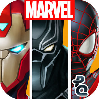 "Marvel Puzzle Quest - Marvel Comics' fearless Super Heroes come to life in this Official Marvel match 3 role playing game! Create your own epic Dream Team using the strongest Super Heroes and the nastiest Super Villains in the Marvel Universe! Play Super Hero characters like Spider-Man, Captain America, Wolverine and the Hulk as you battle your way to victory. Thor, Iron Man, Deadpool and other comic and movie Super Heroes await your challenge! A USA Today ""10 Great Games"" Pick!***FEATURES***- Snag the top rank in Tournaments, Alliances, and Season Play for new character rewards and other prizes! - Form alliances with your friends and use your collective power to fight other players in events and epic battles via chat- Experience deep RPG leveling- Challenge your team of Super Heroes in exciting Player vs. Player tournaments- Build strategic alliances with your favorite heroes and villains- Join a community of 5 million players worldwide- New events, features and tournaments direct from the Marvel Universe- Exclusively written by Marvel's Frank Tieri (Iron Man, Wolverine, Weapon X) and Alex Irvine (Iron Man: The Rapture, Daredevil Noir)***THE ORIGINAL MATCH THREE SUPER HERO GAME!***Match tiles to annihilate your opponents, harnessing Hulk's superpower strength or Professor X's mind control to manipulate the game board! Match 3 gems to power up, damage and bring even the most powerful Marvel comics characters to their knees. Will you be able to rank among the top champions?***PLAY WITH MARVEL'S GREATEST HEROES AND VILLAINS***Recruit your favorite Super Hero characters from the X-Men, Avengers, S.H.I.E.L.D., Guardians of the Galaxy and more to create the ultimate Marvel dream team! Whether you play Spider-Man alongside his arch-nemesis Venom, or play Captain Marvel alongside her Ms. Marvel successor, Kamala Khan, YOU assemble your very own epic team of Marvel Comics Super Heroes!Play Ms. Marvel and her infamous fists against your fiercest foes or launch Captain America's shield to stun your opponents in the final contest. Marvel Puzzle Quest's ever-growing list of Super Hero comics and movie characters is updated regularly with new Super Heroes including Magneto, Black Panther, Ant-Man, Daredevil and more!***UPGRADE YOUR CHAMPIONS AND GAIN POWERFUL REWARDS***Harness the power of Iso-8 to upgrade your Super Hero Dream Team and collect comics to unlock Marvel characters and new superpowers. 4 out of 5 stars from Touch Arcade!9.1 out of 10 ""An intricately crafted, remarkably deep experience -- Marvel Puzzle Quest doesn't merely meet the expectations of its name, it exceeds them."" - IGN.com (Editors' Choice Award)App is available in English, French, Italian, German, Spanish, Japanese, and Korean.Developed by Demiurge StudiosINSTALL MPQ TO UNLEASH YOUR INNER SUPER HERO AND BECOME PART OF THE MARVEL UNIVERSE!"