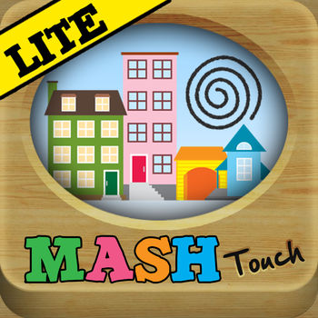 MASH Touch Lite - MASH Touch Lite! - The Only 2 in 1 MASH Game on the App Store!- Over 16 Million predictions have been made!- Unique iPad gameplay! (Full Version)The BEST Mansion, Apartment, Shack, House game available on the App Store. This version let\'s you try MASH Touch out for free. In the full version you can completely customize everything, and it comes with 36 more categories! You can Twitter and Facebook your results too! Check it out! MASH Touch takes the traditional MASH game beyond it\'s roots. What you won\'t see in other versions of MASH is the HILARIOUS stories we tell you once your future is predicted.You remember MASH don\'t you?!Well, the pencil and paper fortune telling game is back and ready to reveal everything about your future!Features:- 8 Categories to choose from (Marriage Spouse, Kids (#), Career, City, Wedding Dress Color, Wedding Theme, Superability, Role Model)- Randomize your selections- View your results as a story!- Currently 54,000,000+ possible stories to be toldFull Version:- Endless possibilities! - A total of 44 categories to predict.- Over 1 Trillion possible stories.- Unique iPad gameplay.