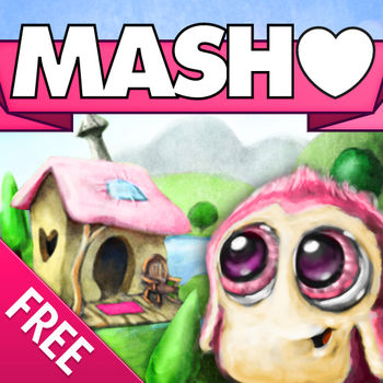 M·A·S·H - MASH game done right! Remember MASH in grade school? Fun for kids, teens & adults. MASH, also called Mansion Apartment Shack House, is the timeless, grade school game that tries to predict your future, including your spouse, job, income, residence, and so much more.- Play MASH Classic!- Download tons of new stories to MASH- Share your stories on Facebook & Twitter- Save stories to view later