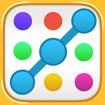Match the Dots by IceMochi - The aPOPcalypse is here - are you ready? IceMochi brings you an ALL-NEW, ALL-FREE dot-matching game! Connect the dots to beat each level, but don\'t run out of moves or time!Prepare to become an UNPOPPABLE master of matching:- 100+ COMPLETELY FREE levels!Think you\'re ready to be a POPfessional? - Connect BIG GROUPS of dots for bonus points!But don\'t get too DOTty now...- We\'ve got a sleek game board for a SUPER-SMOOTH experience!It\'s time to get POPular and we\'re right on the DOT:- Make huge lines of dots to win HIGH-SCORE levels!- Don\'t let the clock run out in TIMED levels!- Match up the correct colors and you\'ll have COLLECTION levels beat!- Want to know more? Earn stars to unlock TEN hidden modes!Our dots are LOVESICK and you\'re the ANTI-DOT-E! It\'s never too late to make a match ;)