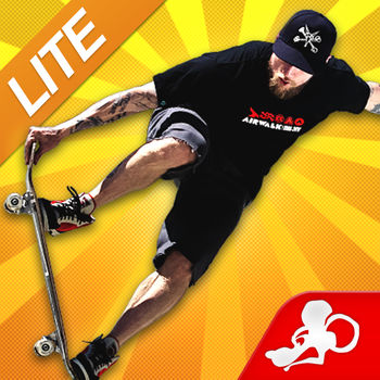 Mike V: Skateboard Party Lite - Play with your friends using the multiplayer mode, complete achievements, gain experience and upgrade your skaters. Customize your outfits, shoes, board, trucks, wheels and bearings. Challenge skaters from all over the world using Game Center leaderboards. Loaded with features, Mike V: Skateboard Party is the best skateboarding game to hit the market. CAREER MODEComplete over 30 achievements to unlock new items and locations. Gain experience to upgrade your favorite skater's attributes to perform better and achieve higher scores. FREE SKATEPractice and improve your skateboarding skills without any constraints. MULTIPLAYERChallenge your friends to a skateboard duel and let's see who can land the baddest tricks! Share and brag your results with your friends on Twitter. MASSIVE SELECTIONSelect between 8 characters and customize each of them to your preference. From outfits to shoes, choose your favorite gear. A massive collection of boards, trucks, wheels and bearings are available including items from Airwalk, Powell & Peralta, Bones, Tork Trux and Iron Fist Clothing.LEARN TO SKATEOver 40 unique tricks to master and hundreds of combinations. Follow the tutorial to get started and progress as you go. Execute the craziest combos and trick sequences to rack up some impressive high scores, gain experience and make a name for yourself.HIGH DEFINITIONNo other skateboarding game is available in HD. Mike V: Skateboard Party includes next generation graphics specially optimized for your mobile hardware to provide you with the best skateboarding experience on your iPhone, iPad and iPod Touch.NEW CONTROLSNew fully customizable control system; configure your own buttons layout and adjust the opacity. Use the right or left handed control mode, select a control preset or create your own. Use the analog stick or accelerometer option as you wish. Adjust your truck tightness to change your steering sensitivity. LOADED WITH FEATURES•Now with iPhone 5 and iPad retina support. •The only HD Skateboarding game available on the market. •Multiplayer mode to play against your friends using Wi-Fi & Bluetooth.•New, fully customizable control system. You can adjust everything!•Learn over 40 unique tricks and create hundreds of combinations. •Massive skateboard locations to ride including a community center, a motel, a downtown plaza, a junkyard and an indoor skatepark.  •Customize your skater or board with tons of exclusive content including outfits, shoes, boards, trucks, wheels and bearings from licensed brands.•Play often to gain experience and upgrade your skater's attributes. •Game Center enabled including 30 achievements and online leaderboards. •Share your results with your friends on Twitter. •Ability to listen to your own music library.•Soundtrack by Conditions & Revolution Mother. •Universal version for all your iOS devices. •Ability to purchase experience points using in-app purchases.•Now supports English, French, German, Italian, Spanish, Portuguese, Korean and Chinese languagesABOUT MIKE VALLELYFrom skateboard legend to rock star and movie actor, Mike Vallely is known as a pioneer and innovator in the skateboarding world. Discovered by Stacy Peralta (Z-Boys) and Lance Mountain in the 80s, Mike became the first East Coast street skater to emerge on the scene and became an overnight sensation. SUPPORT: http://en.ratrodstudio.com/support/VISIT US: http://ratrodstudio.com   FOLLOW US: twitter.com/ratrodstudio