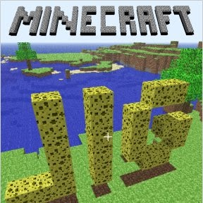 Minecraft - Minecraft is a three-dimensional sandbox game that has no specific goals for the player to accomplish, allowing players a great amount of freedom in choosing how to play the game. However, there is an achievement system.[15] Gameplay by default is first person, but players have the option to play in third person mode. The core gameplay revolves around breaking and placing blocks. The game world is composed of rough 3D objects—mainly cubes—arranged in a fixed grid pattern and representing different materials, such as dirt, stone, various ores, water, lava, tree trunks, etc. While players can move freely across the world, objects can only be placed at fixed locations on the grid. Players can gather these material blocks and place them elsewhere, thus allowing for various constructions.